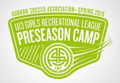 Preseason Camp: U13 Girls Recreational League