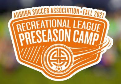 Preseason Soccer Camp: Fall 2021